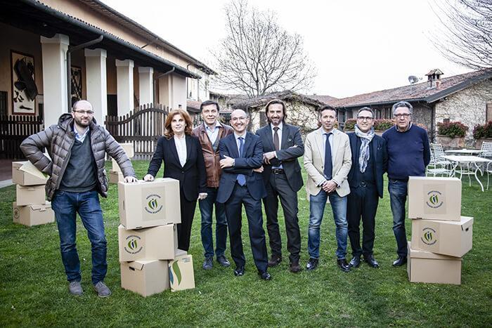 Da sinistra: Riccardo Stefani, Alessandra Tosi, Giorgio Bellucci, Riccardo Cavicchioli, Quinto De Mattia, Andrea Mecarozzi, Simone Baratella, Fausto Vernizzi.