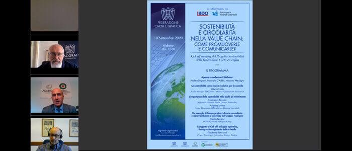 La Federazione Carta e Grafica presenta il Progetto Sostenibilità