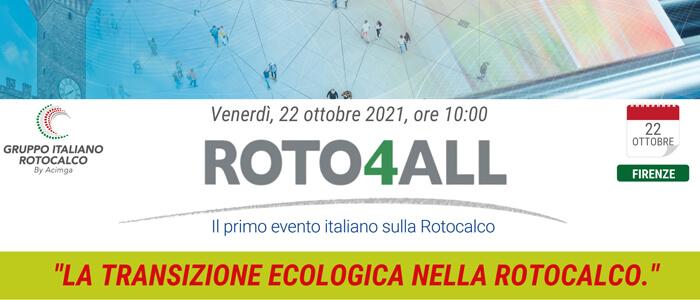 Roto4All, appuntamento il 22 ottobre a Firenze